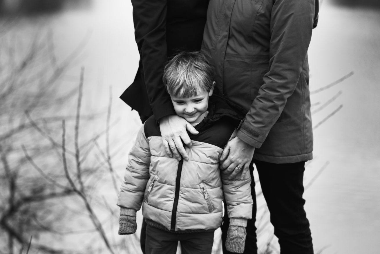 kind met papa en mama